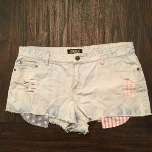 Forever 21 Denim All-American Shorts, Size 31